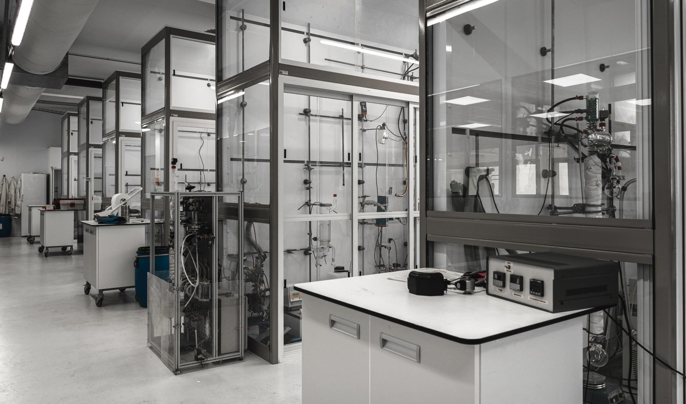 Équipements du laboratoire